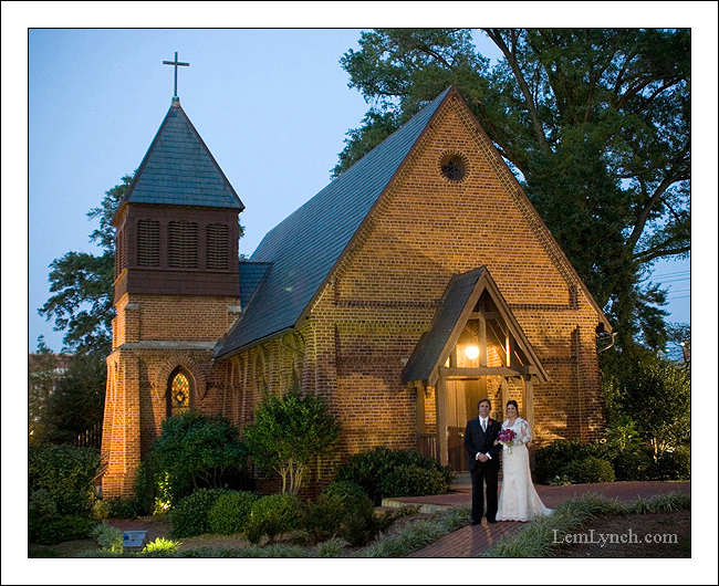 Wedding at St. Mary's Chapel - Charlotte, NC
